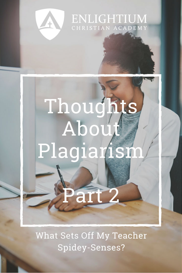 Thoughts about plagiarism part 2 a