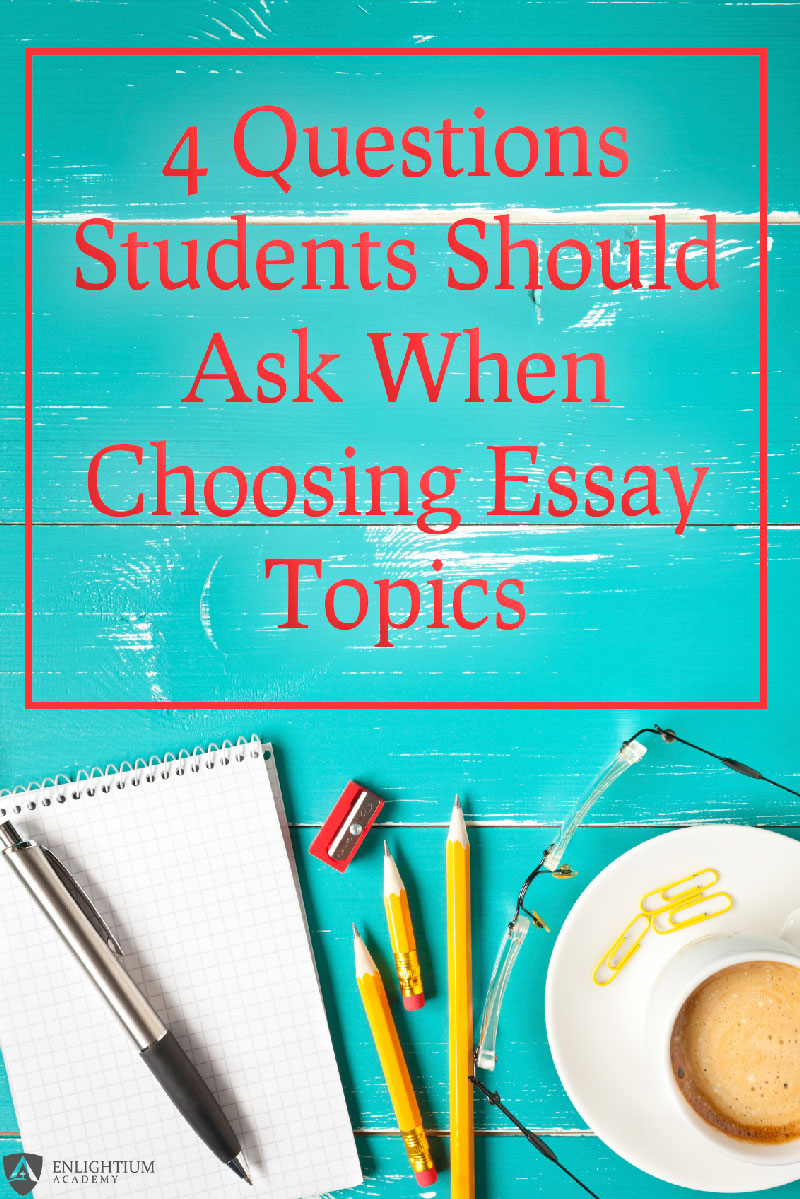 Essays topics list