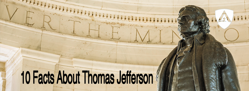 10 Facts About Thomas Jefferson